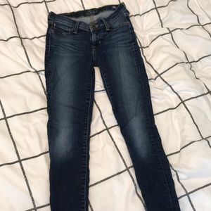 lucky brand mid rise skinny jeans